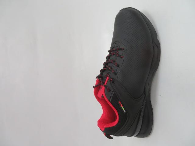 Buty Sportowe Męskie 2699-2, Black/Red, 41-46