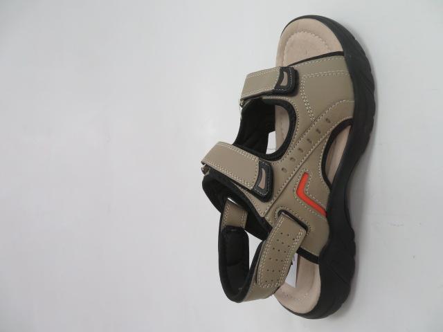 Sandały Męskie A5511-6, Khaki , 41-46