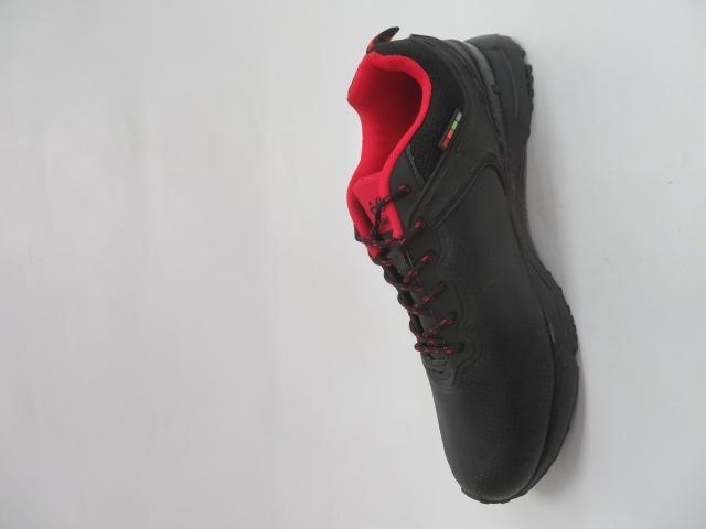 Buty Sportowe Męskie 2699-2, Black/Red, 41-46 2