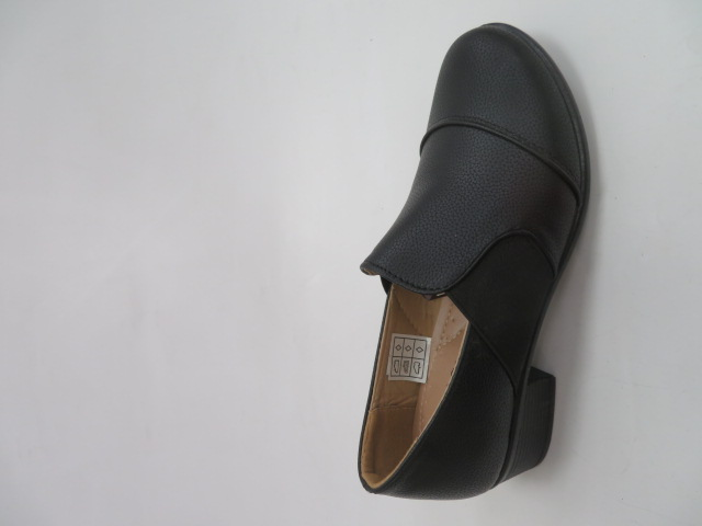 Półbuty Damskie K10, Black, 36-41