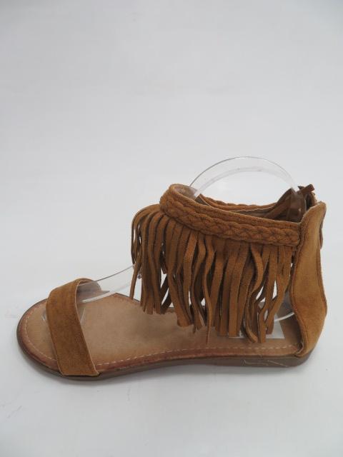 Sandały Damskie 5396 ,  Camel, 36-41