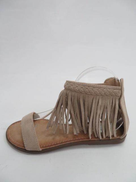 Sandały Damskie 5396 , Beige, 36-41