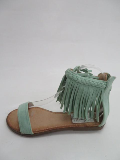 Sandały Damskie 5396, Green , 36-41