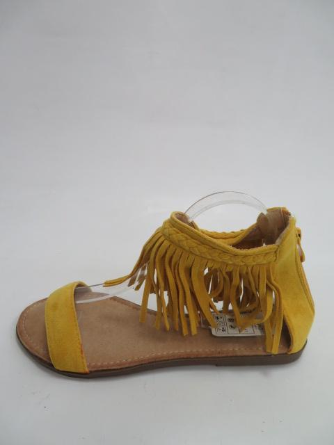 Sandały Damskie 5396 , Yellow, 36-41