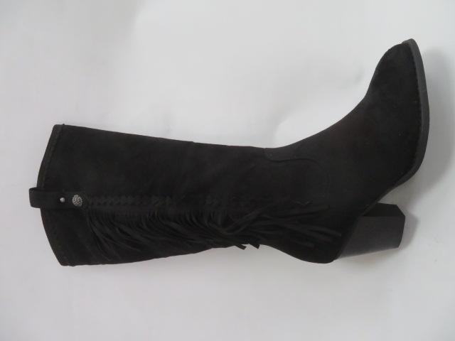 Botki Damskie 6029-1, Black, 36-41
