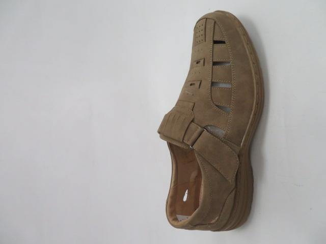 Półbuty Męskie 1305-3, Khaki , 41-46