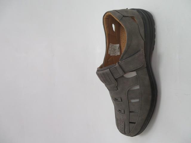 Półbuty Męskie 1305-4, Grey , 41-46
