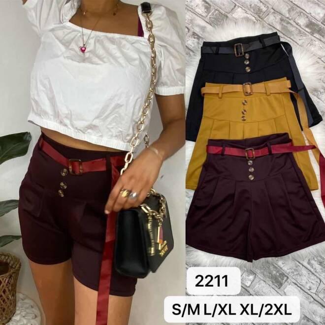Spodenki Damskie 2211 MIX KOLOR S/M-L/XL-XL/2XL