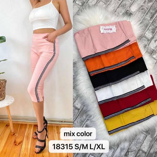 Spodnie  Damskie 18315 MIX KOLOR S/M-L/XL
