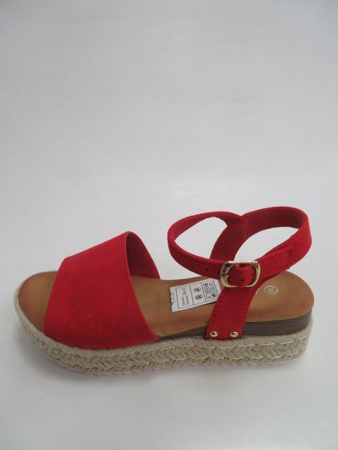 Sandały Damskie HOY03, Red, 36-41
