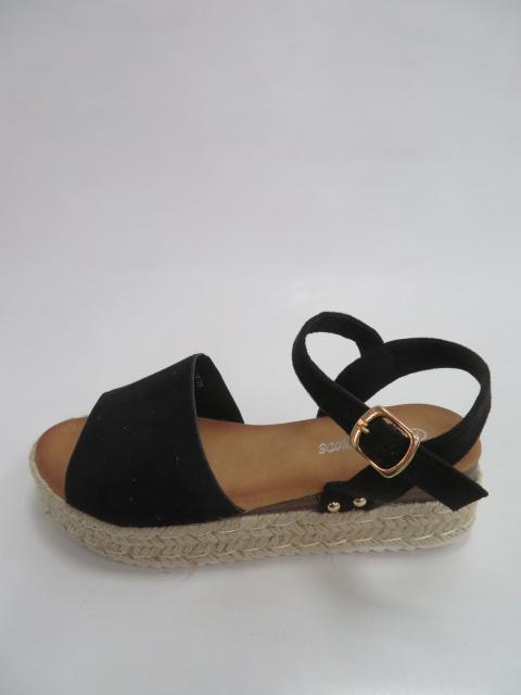 Sandały Damskie HOY 03 , Black, 36-41