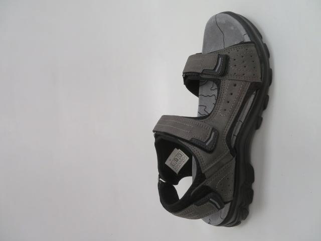 Sandały Męskie K8-101, D.Grey, 40-46