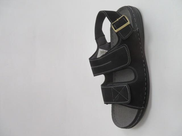 Sandały Męskie K8-301, Black, 40-46