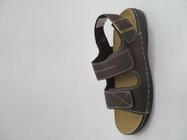 Sandały Męskie K8-301, Coffe, 40-46