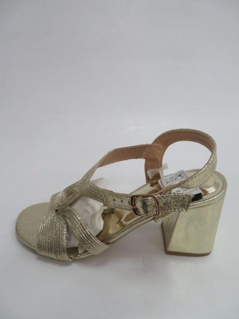 Sandały Damskie SY 782, Gold, 36-41