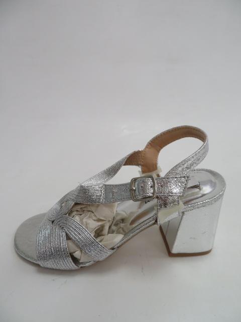Sandały Damskie SY 782, Silver, 36-41