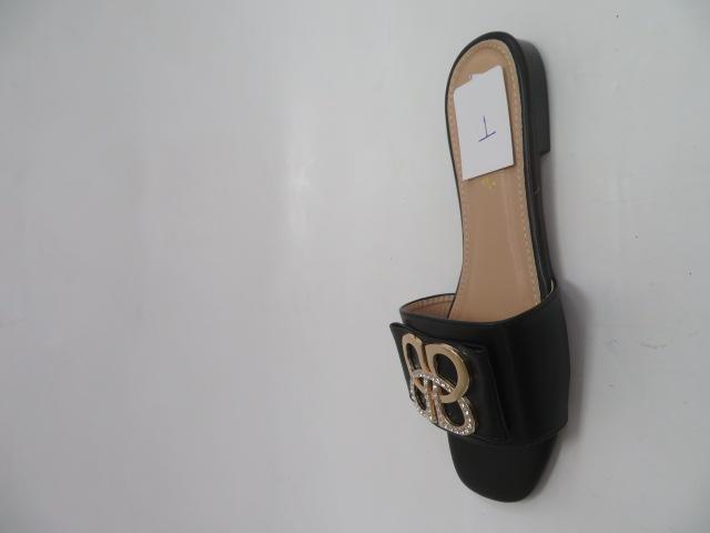 Klapki Damskie HXD59, Black, 36-41 1