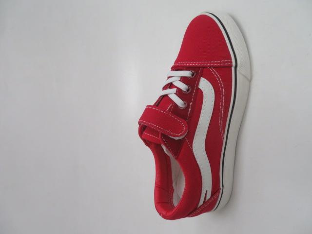 Trampki Dziecięce WQ807, Red, 31-36