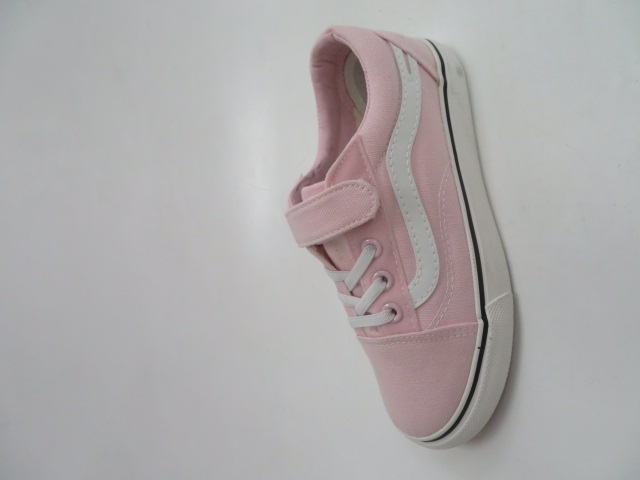 Trampki Dziecięce WQ807, Pink, 31-36