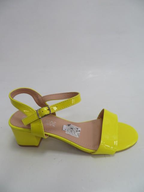 Sandały Damskie QL-93, Yellow, 36-41