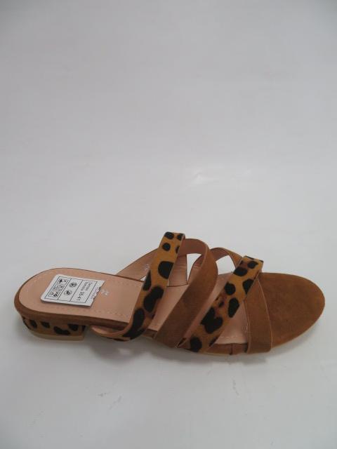 Klapki Damskie XW9095, Camel, 36-41