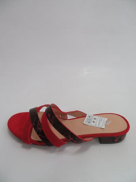 Klapki Damskie XW 9095, Red, 36-41