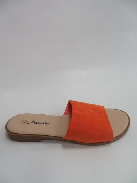 Klapki Damskie 1606, Orange, 36-41