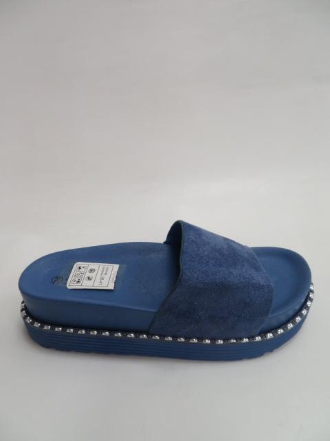 Klapki Damskie 3808, Blue, 36-41