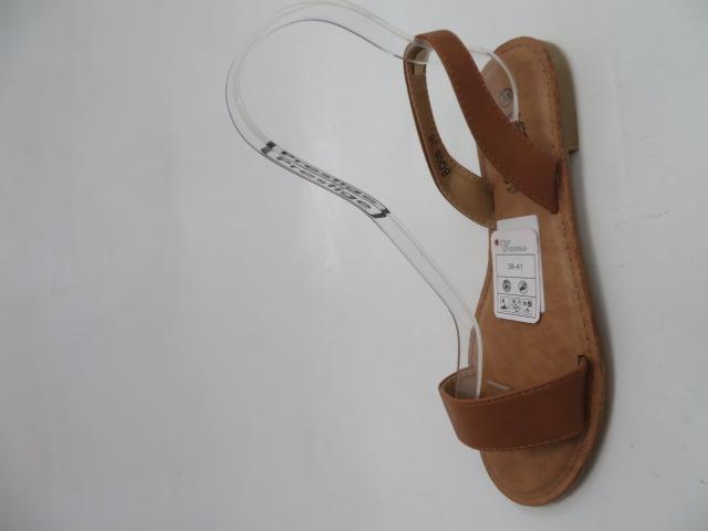 Sandały Damskie BQ08, Camel, 36-41 1