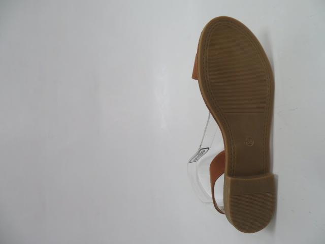 Sandały Damskie BQ08, Camel, 36-41 3