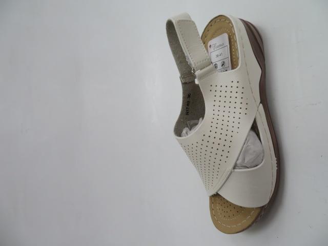 Sandały Damskie L17-62, White, 36-41 1