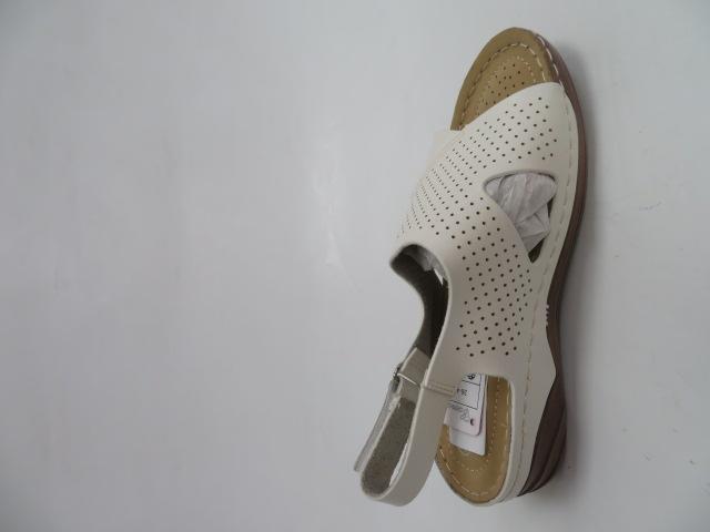 Sandały Damskie L17-62, White, 36-41 2