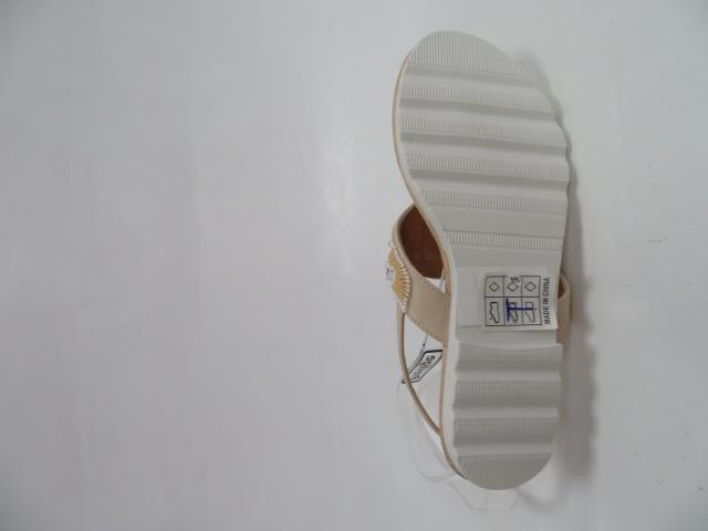 Sandały Damskie H276, Beige, 36-41 3