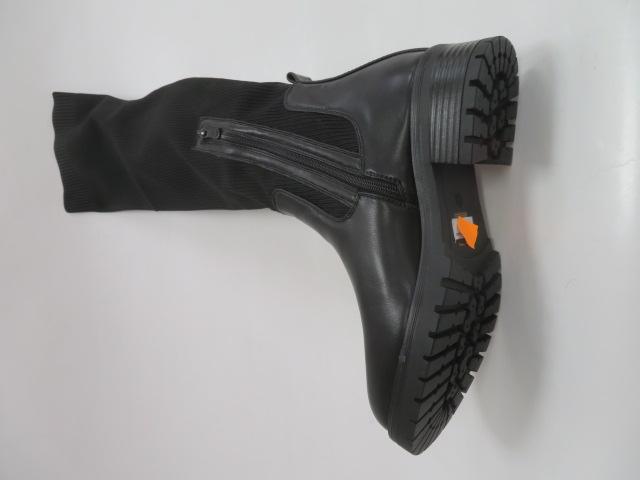 Kozaki Damskie JKD-155, Black, 36-41 3