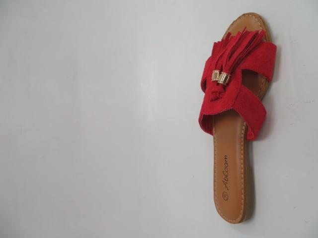 Klapki Damskie WL-237, Red, 36-41 2