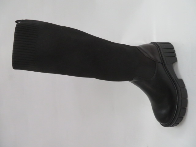Kozaki Damskie JKD-138, Black , 36-41