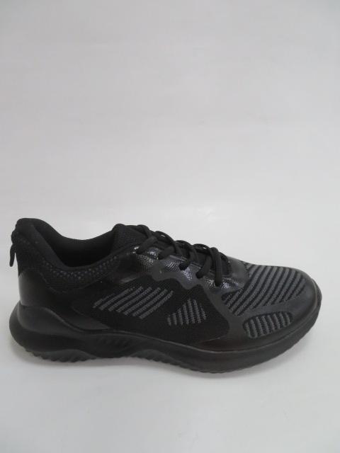 Buty Sportowe Męskie 19015,  Black.Grey, 41-46