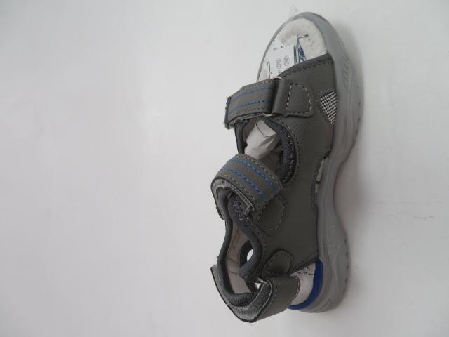 Sandały Dziecięce F656, Gray/Navy, 26-31
