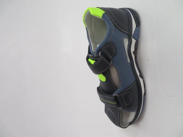 Sandały Dziecięce F660, Navy/Green, 26-31
