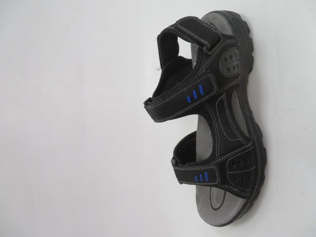 Sandały Męskie 9SD 9134, Black/Blue, 41-46