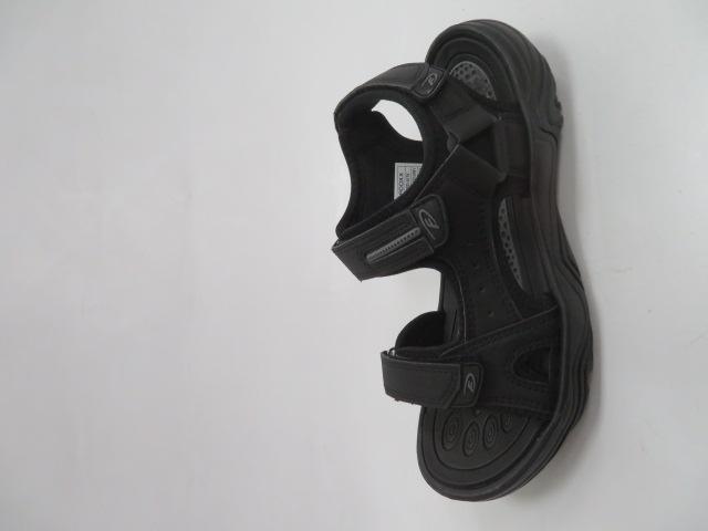 Sandały Męskie 9SD 9176, Black/Grey, 40-45
