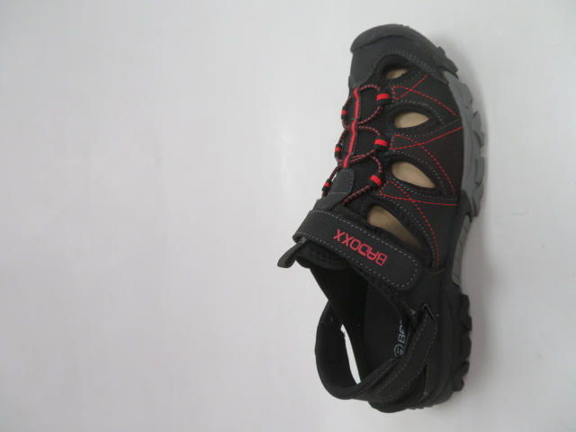 Sandały Męskie 9SD 9129-R, Black/Red, 41-46