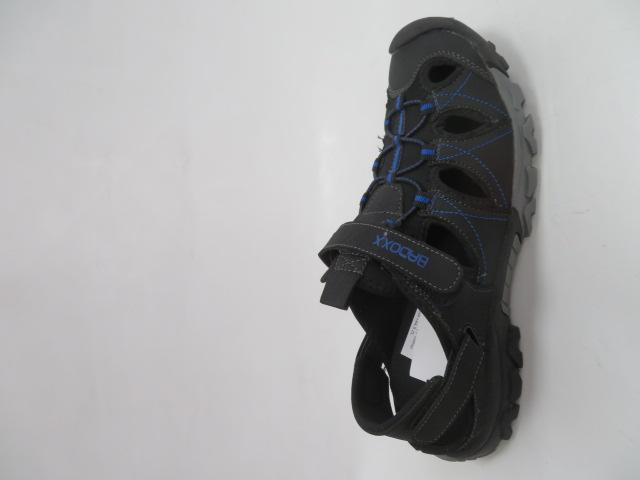 Sandały Męskie 9SD 9129-R, Black/Blue, 41-46