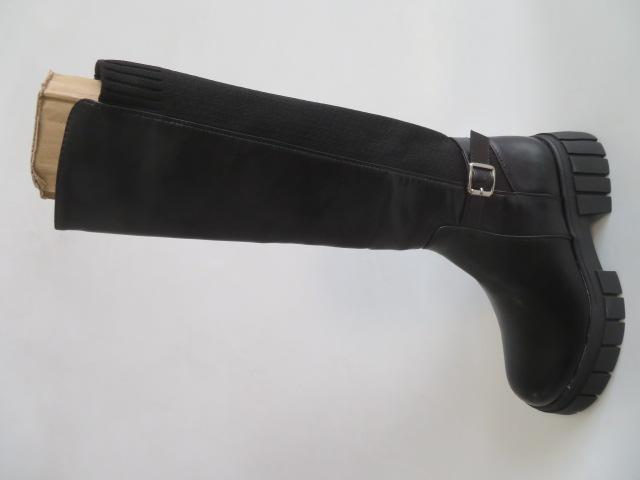 Kozaki Damskie 9042, Black, 36-41