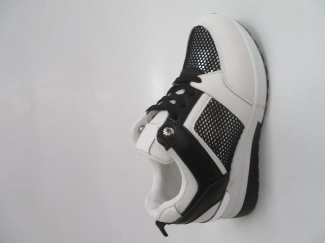 Sportowe Damskie K99160, White/Black, 36-41