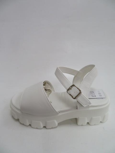 Sandały Damskie 0817-10, White , 36-41
