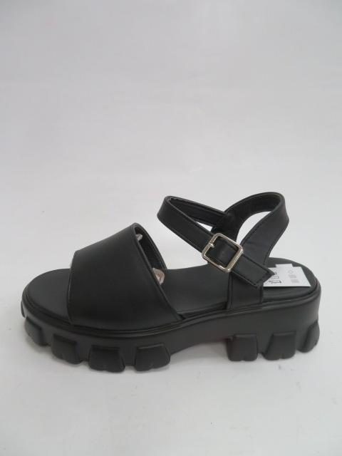 Sandały Damskie 0817-10, Black, 36-41