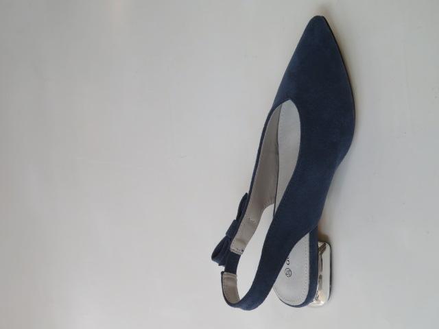Czółenka Damskie  GD-FL357, Blue, 36-41