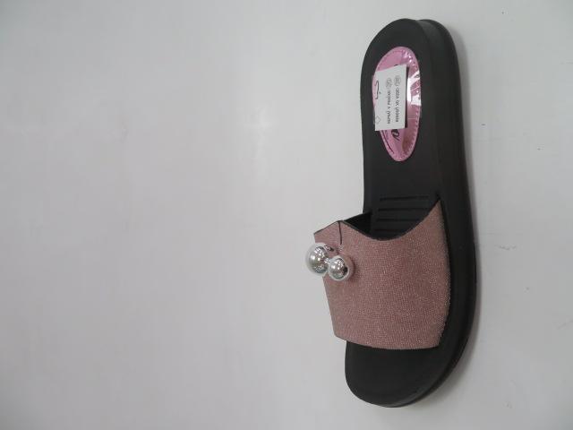 Klapki Damskie J39-5, Pink, 36-41
