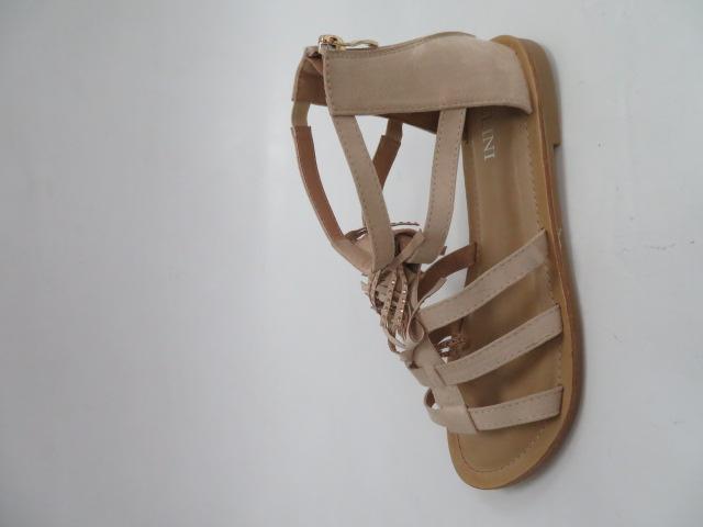 Sandały Damskie J81-1, Beige, 36-41